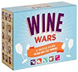 Wine Wars : A Trivia Game for Wine Geeks and Wannabes (Gifts for Winos, Wine Lover Gifts, Adult Trivia Games)