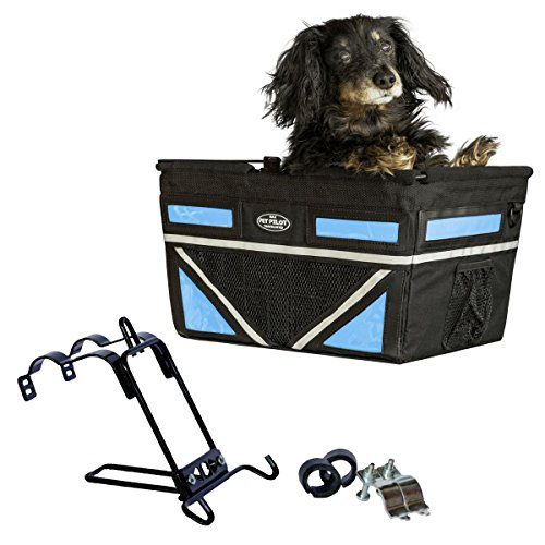Travelin K9 Pet-Pilot MAX Dog Bicycle Basket...