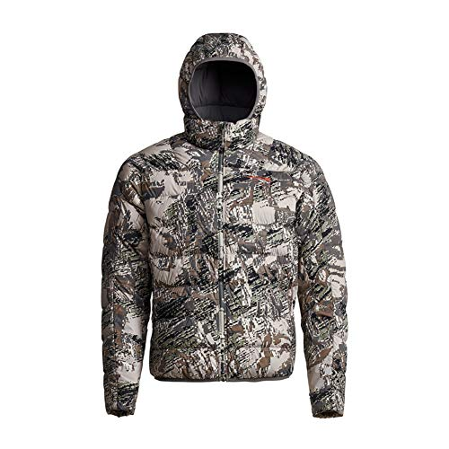 SITKA Gear Men's Kelvin Lite Down Jacket, Optifade Open Country, Medium