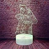 Luces Deslizantes 3D Luz De Noche Led Toy Story 4 Woody Buzz (Juguetes) Jessie (Jessie) Action S Ani...