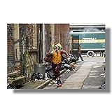 wtnhz Kein Rahmen Joker Filmplakat Joaquin Phoenix Filmplakate Kunstdrucke Wandbilder für Wohnzimmer Dekor 19.7x29.5inch