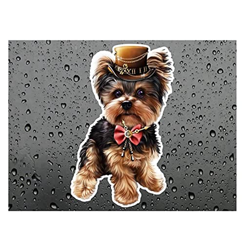 MDGCYDR Pegatinas Coche Perro 25Cm Dogs Are Man'S Most Loyal Friends. For Dog Lovers, and of Course There Are Also Waterproof Dogs Stickers That Cover Scratches