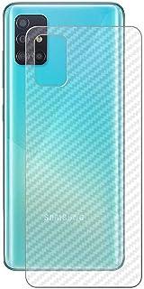 Carbon Fiber Sticker Film Transparent 3D to Protect Back Side for Samsung Galaxy A51 / A71 (A51)