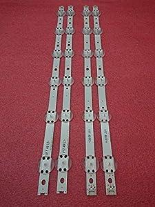 Miwaimao 5set=20 PCS LED Strip For LG 49UV340C 49UJ6565 49UJ651V 49UJ670V 49UJ701V V17 49 R1 L1 ART3 2862 2863 6916L-2862A 2863A