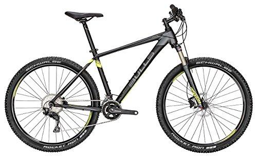 Bulls Herren Mountainbike Modell Copperhead 3 (2016) - Fahrrad 27.5 Zoll, MTB Hardtail - 22 Gang Kettenschaltung, schwarz-matt/grau
