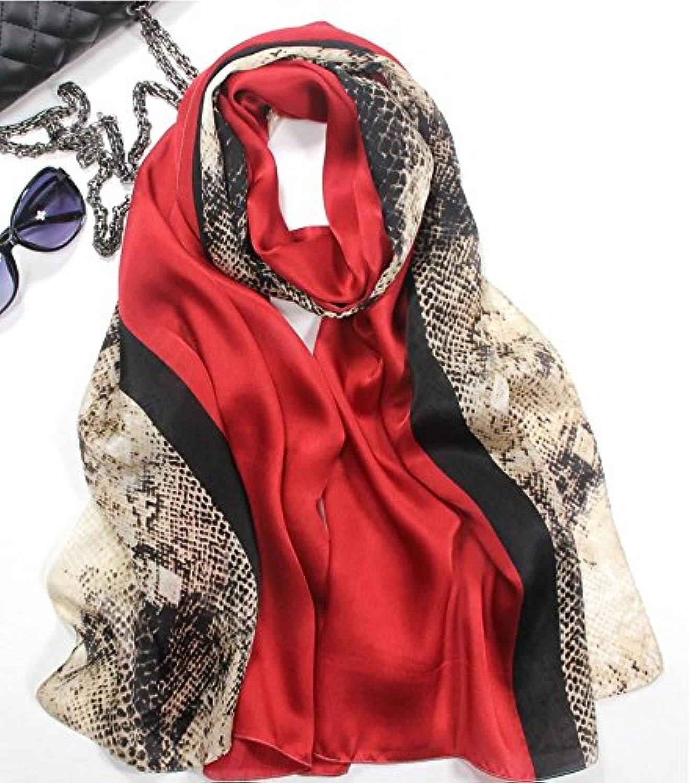 SALY Ladies Western Style Silk Scarves Silk Scarves