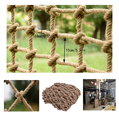 Buy Bargain Zjnhl Home Protection net Climbing Net Stair Protection Net Child Safety Net Balcony Ant...