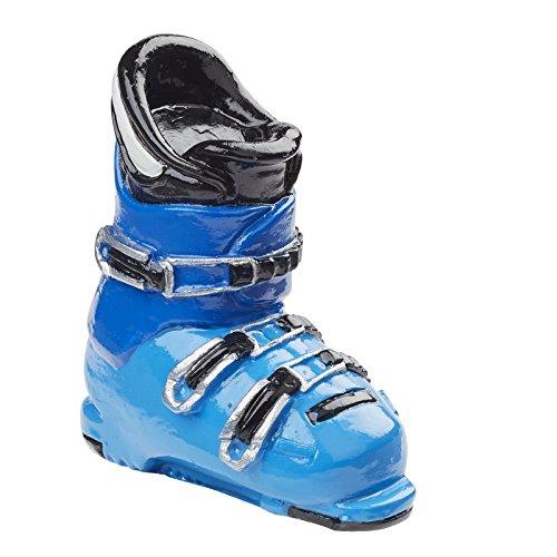Buty narciarskie, ok. 4 cm, niebieskie