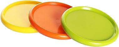Luminarc Glass Food Storage Jar - 0.5 L, 0.75 L, 1 L ,Pack Of 3, Clear