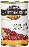 Gli Azuki Rossi al naturale Il Nutrimento sono fagioli biologici in lattina di tipo azuki pronti all'uso. Come tutta la gamma di legumi de Il Nutrimento si prestano alla preparazione di moltissime ricette: possono essere impiegati tal quali, riscalda...