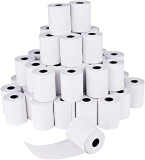 SHiZAK 48 rollos de papel térmico sin BPA de 57 mm de ancho y 15,3 m de longitud