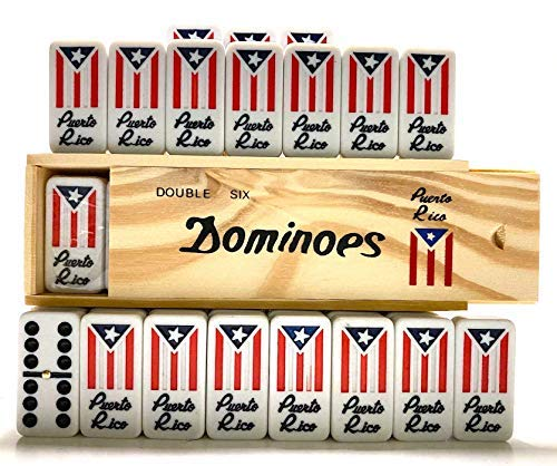 Puerto Rico Gifts Regalos de Family Amigos Friends Gift Packs Cafe con (Domino de Puerto Rico Set)