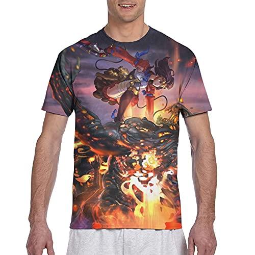 甲鉄城のカバネリ 海門決戦 潮流 創意デザイン プリント 半袖 男女兼用 個性 丸えり 快適である Tシャツ メンズ レディース カジュアル 夏服 緩い 人気 夏の上着