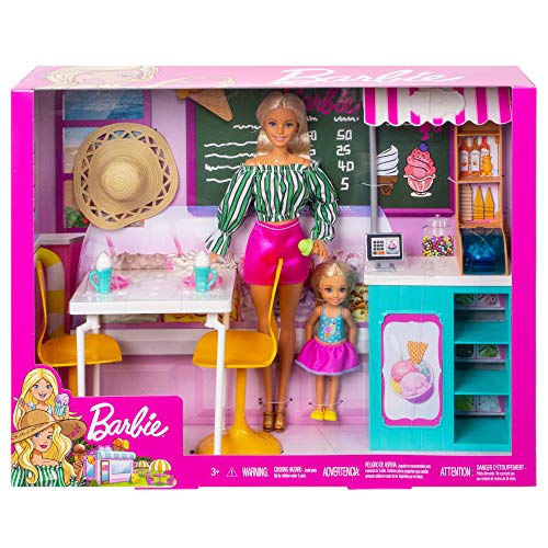 Barbie - Cafe Set Bambole e Gelateria, GBK87
