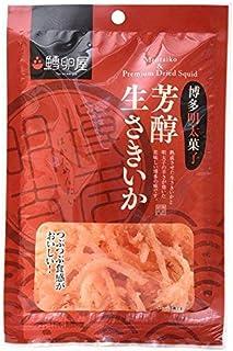 【 ふくや 鱈卵屋 】 博多明太子 芳醇生さきいか 30g / 福岡 土産 ×3個