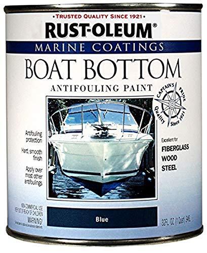 Rust-Oleum 207013 Marine Boat Bottom Antifouling Paint, Blue