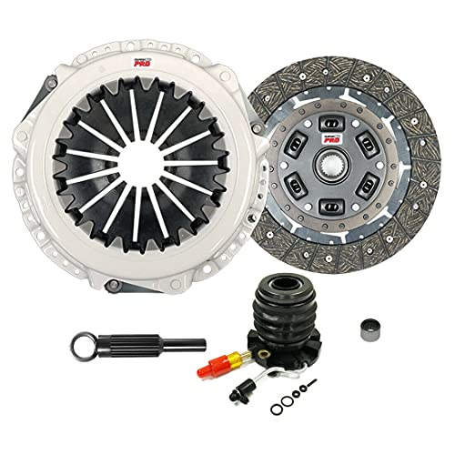 ClutchMaxPRO Heavy Duty OEM Clutch Kit with Slave Cylinder Compatible with...