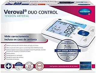 Hartmann TENSOVAL Duo Control II L, Negro, Manguito Talla L (32-42 cm)