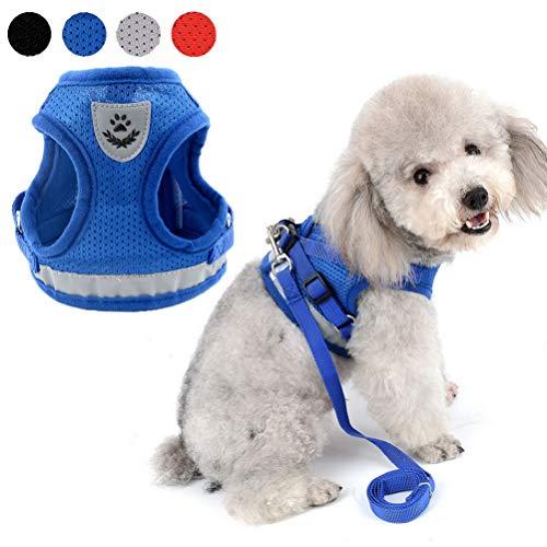 Zunea - Arnés ajustable para cachorros, perros pequeños o gatos, sin tirones,...