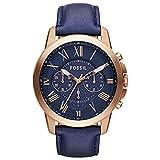 reloj fossil hombre dorado