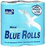 Elsan ROL04 Toilet Rolls-Blue, Size 4 x 400