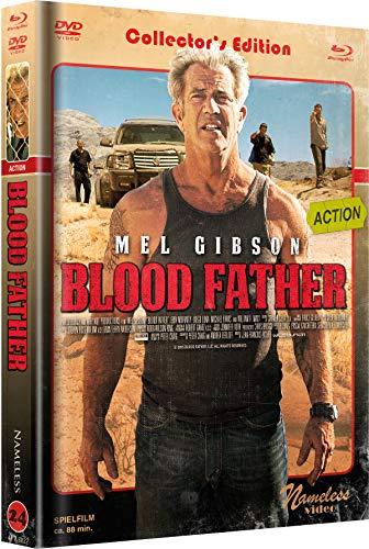 Blood Father - Mediabook - Cover C Retro - Limited Edition auf 333 Stück (+ DVD) [Blu-ray]