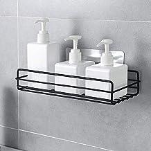 ADTALA Steel Hanging Shower Caddy Self-Adhesive Plain Shelves Organizer Storage Rack for Bathroom (Size No-53)