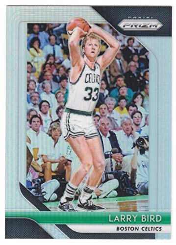 2018-19 Prizm Silver Prizms Basketball #85 Larry Bird Boston Celtics Official NBA Trading Card From Panini America