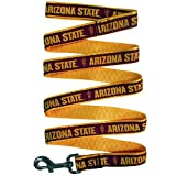 · NCAA LEASH - Officially licensed by the NCAA COLLEGE. Don't be fooled by other unlicensed, lower quality products. This DOG LEASH features the LOGO and colors of the COLLEGIATE TEAM! · BEST QUALITY DOG LEASH - Made of a durable HEAV...