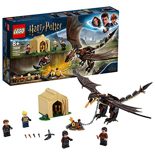 Lego 6251013 Lego Harry Potter   Lego Harry Potter Hongaarse Hoornstaart Toverschool Toernooi - 75946, Multicolor