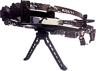 Ravin R150 TacHeads Quick-Detach Crossbow Bipod For Use Exclusively With Ravin Crossbows, Black
