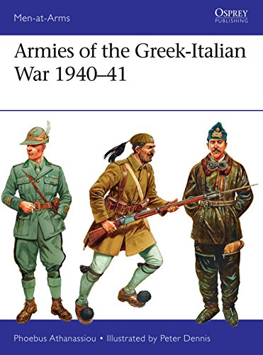 Armies of the Greek-Italian War 1940–41 (Men-at-Arms Book 514) (English Edition)