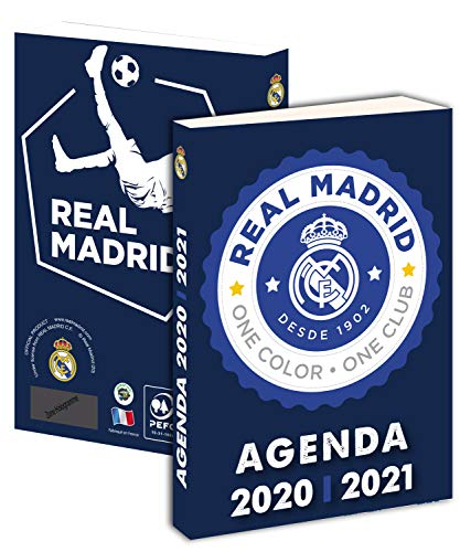 Agenda escolar Real Madrid 2020-2021