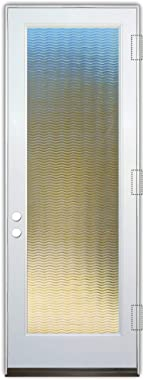 Glass Front Entry Door Sans Soucie Art Glass Golden Waves