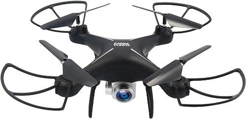 CLCYL Drohne, Fernbedienung, Lang-Batterie-Leben, FPV-Real-Time-übertragung, Anti-Drop- , One-Touch-Funktion, LED-Beleuchtung und Teleskopfernbedienung, DREI Farben