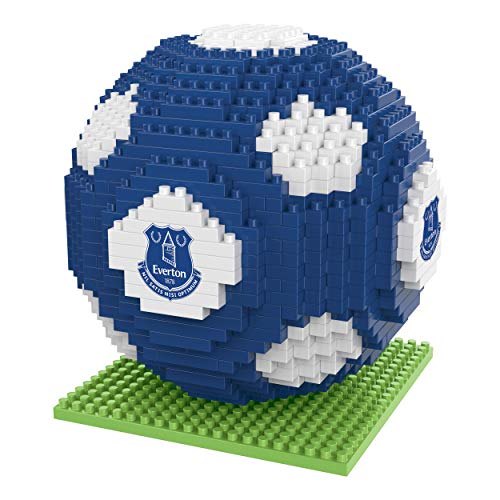 FOCO BRXLZ Football Building Set 3D Construction Toy (Everton)