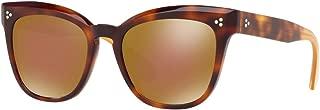 Oliver Peoples MARIANELA OV5372SU - 1642F9 Sunglasses DARK MAHOGANY 54MM