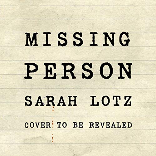 Missing Person audiobook cover art