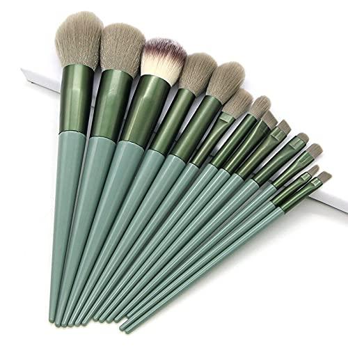 pinceaux maquillage 13pcs Pinceaux De Maquillage Licorne Avec Sac De Mélange De Poudre Pour Les Yeux Pinceau De Maquillage Trousse À Outils