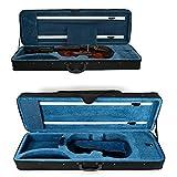 Funda para violín 4/4 Oxford con correa ajustable, color negro