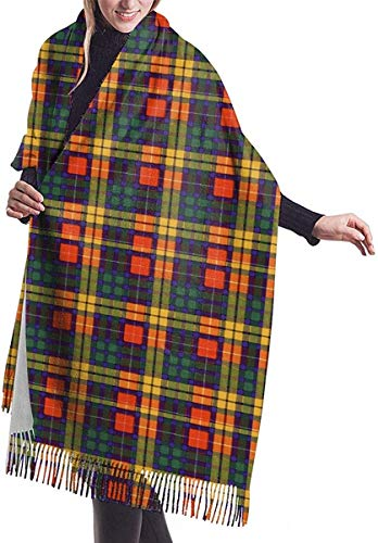 Damen Winterschal Macleod of Lewis Ramsay Plaid Print Schal Decke Schal für Damen Herren
