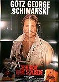 Schimanski - Zahn um Zahn - Götz George - Filmposter A1