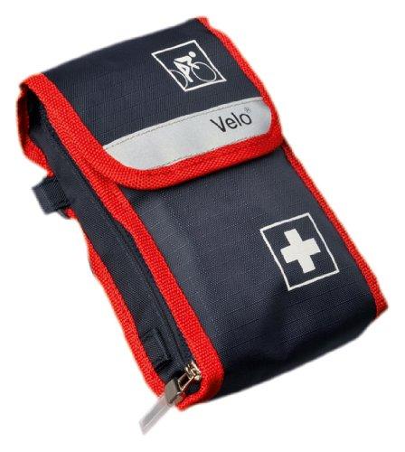 Holthaus Velo Fahrradverbandtasche, 11.5 x 17 x 4 cm blau-rot