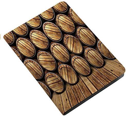 Man Cave Decor iPad Air 2 iPad Air Case Wall of Wooden Seem Barrels Cellar Storage Winery Rum product image