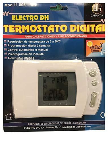 ElectroDH - 11.805 Termostato Digital Ct Y Et