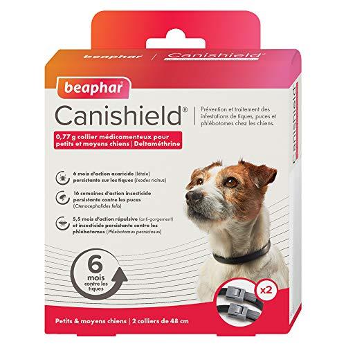 Beaphar Canishield Collar para perros pequeños y medianos 2 collares