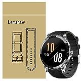 LvBu Armband Kompatibel Für Blackview X1, Leder Silikon Classic Ersatz Uhrenarmband Für Blackview X1 Smartwatch (schwarz)