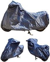 Compatible con Cagiva Raptor 125 Funda de Moto para Parabrisas y/o baúl de Nailon Impermeable 295 x 105 x 127 cm Universal para Moto Maximoto Scooter Maxiscooter