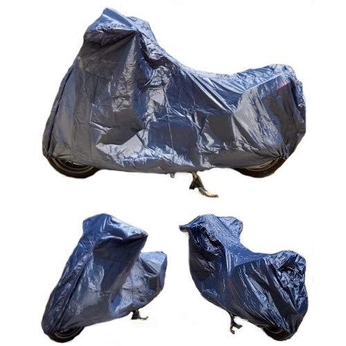 Road King Custom beschermhoes voor voorruit en kofferbak, waterdicht, nylon, voor fiets, Para, motorfiets, maat XXL, 295 x 105 x 127 cm, universeel
