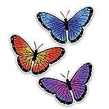 WZJH 13. 1cmx15.5cm Interesante Encantador Mariposa de Color...